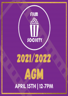 Film Society 2021/2022 AGM