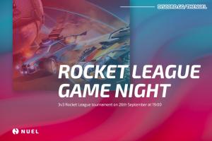 Online Event: Gaming Tournament: 3v3 Rocket League