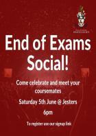 Politics Society End of Exams Social