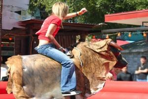 Rodeo Bull and FREE Barbecue - You Are More Than Your Studies