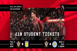 Southampton FC: Tickets On Campus