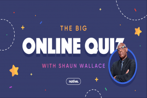 The Big Online Celebrity Quiz with Shaun Wallace